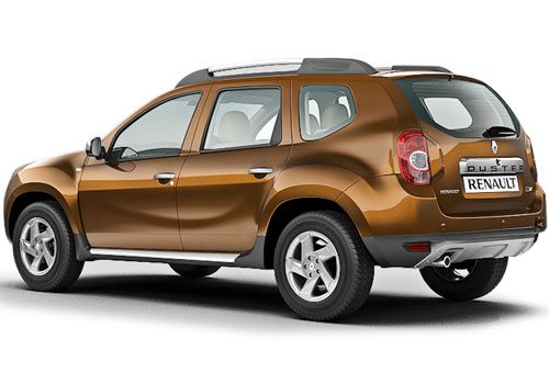 duster rate in india