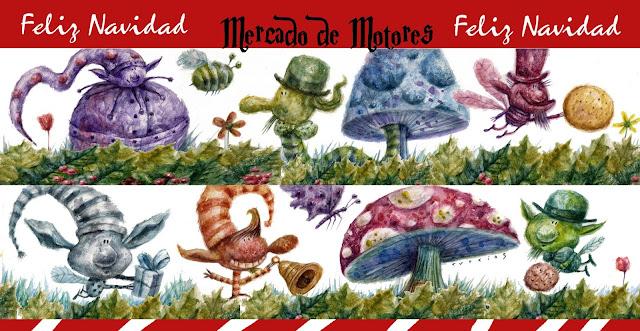 Mercadillo de Navidad en el Mercado de Motores. 9 y 10 de diciembre