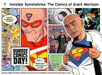 Dundee Comics Day poster