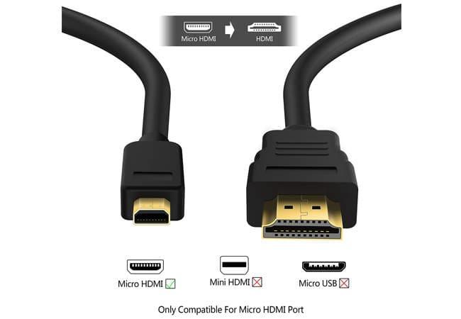 Micro HDMI dan HDMI