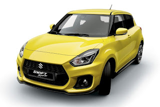 Suzuki Swift Sport (2018) Front Side