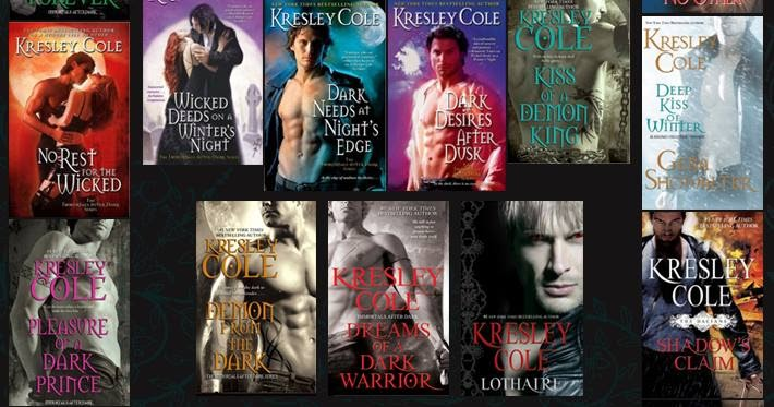 Dark series cole immortals after pdf kresley