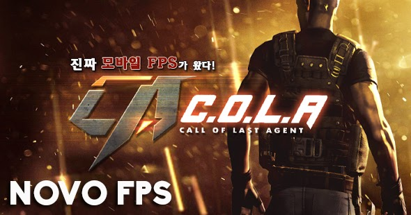 NOVO FPS PARA ANDROID - Call of Last Agent ~ Adeh Games