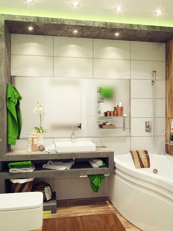 reka bentuk bilik mandi