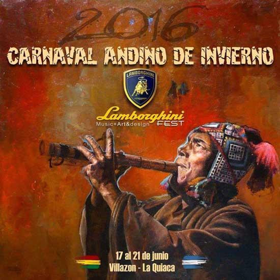 Programa Carnaval Andino de Invierno Argentino - Boliviano 2016