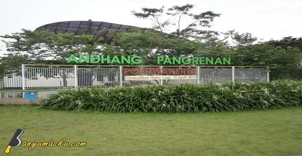 Taman Kota Andhang Pangrenan Purwokerto