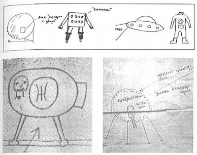VoronezhSketches Caso UMMO : Cuando los Extraterrestres visitaron España. El dudoso caso que tiene creyentes y detractores debatiéndose hasta hoy en día