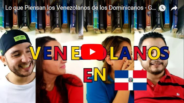 Venezolanos en república Dominicana hablan sobre su situación