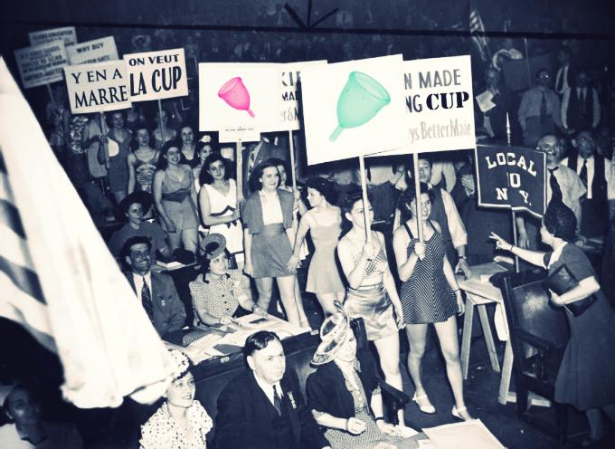 Révolution féminine par l'objet avec la CUP