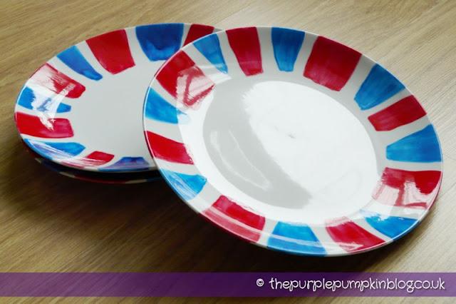 Diamond Jubilee Hand Painted Crockery Plates