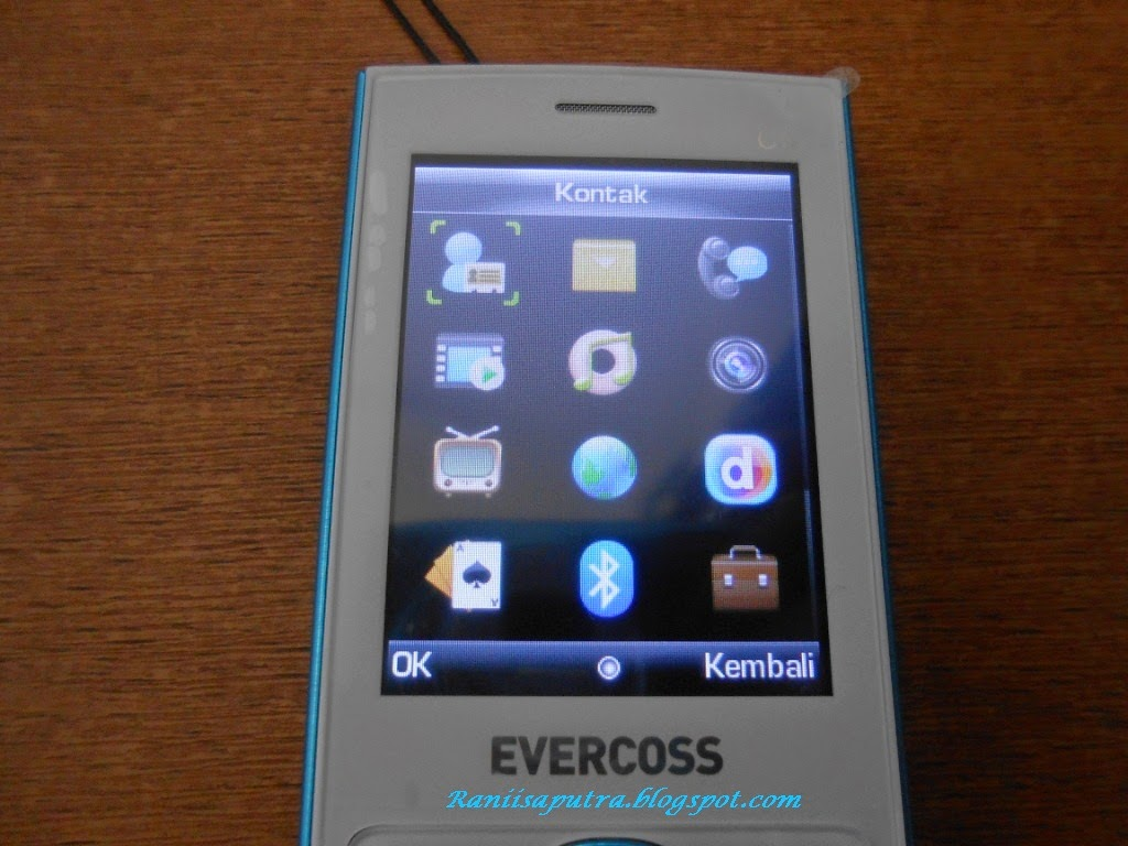 user interface Evercoss c5