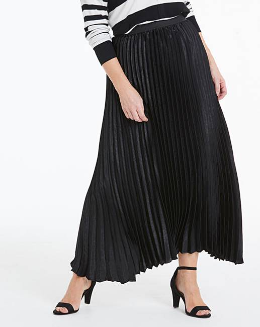 JD Williams Sunray pleat maxi skirt