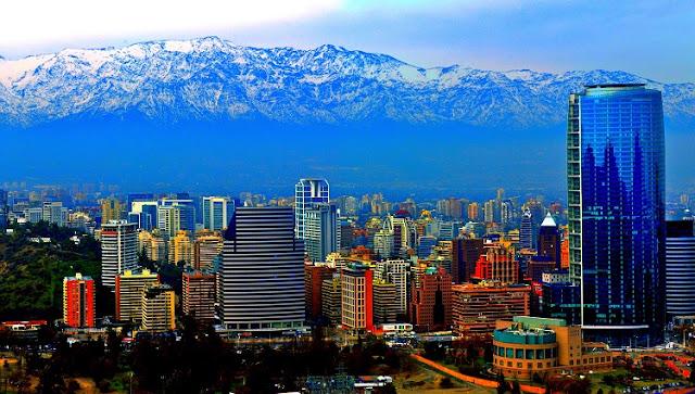 Principais cidades turísticas do Chile - Santiago