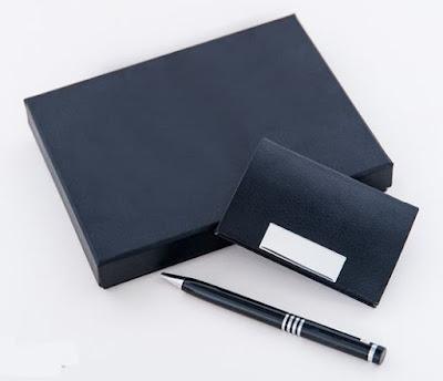 bộ quà tặng hộp name card đep