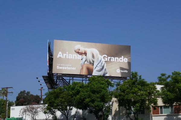 Ariana Grande Sweetener billboard