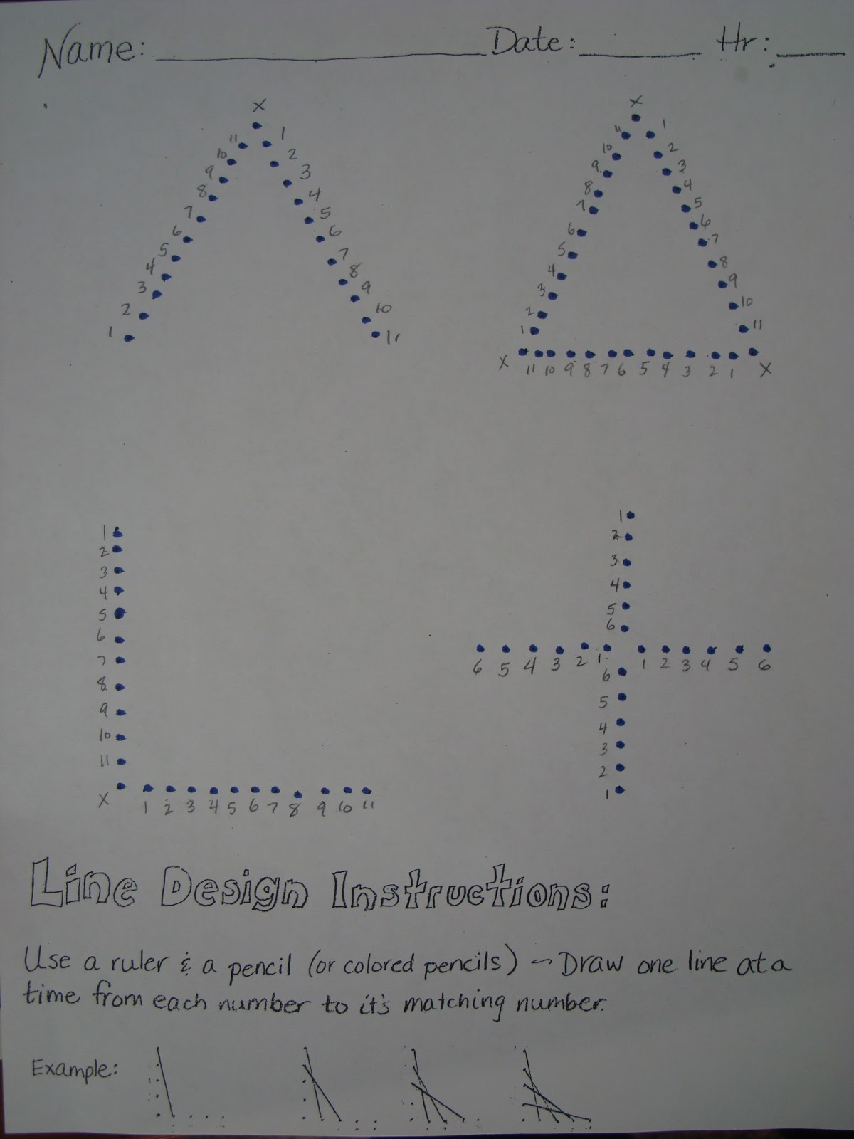 medium resolution of Adventures of a Middle School Art Teacher: 7th Grade String Art