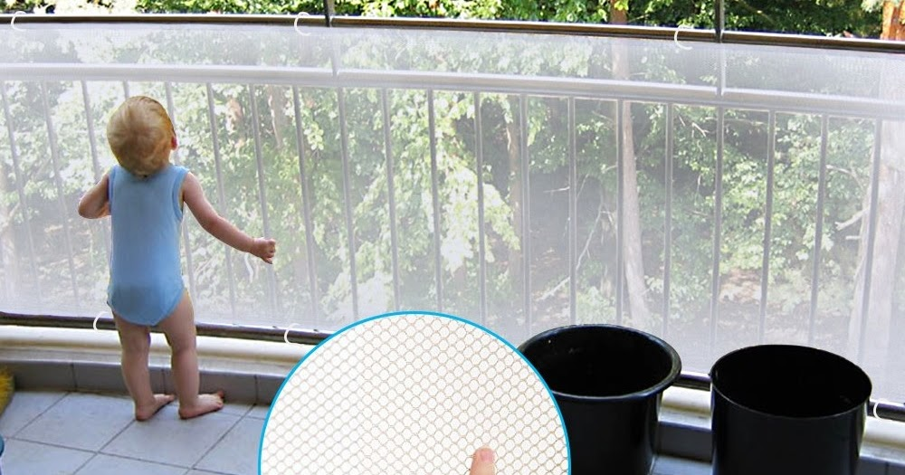 My Frugal Baby Tips Child Safety Mesh Railing Protector