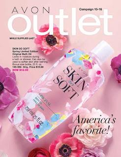 Avon Outlet Campaign 15 & 16 6/24/17 - 7/21/17