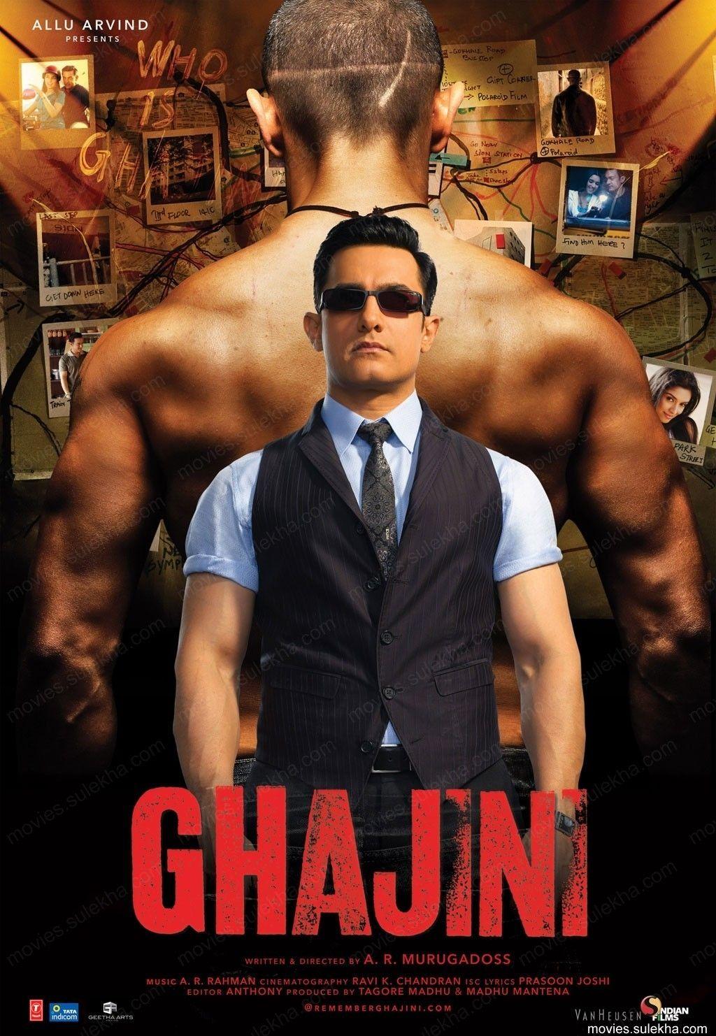 Ghajini 2008 Hindi Movie 720p BluRay 1GB Free Download