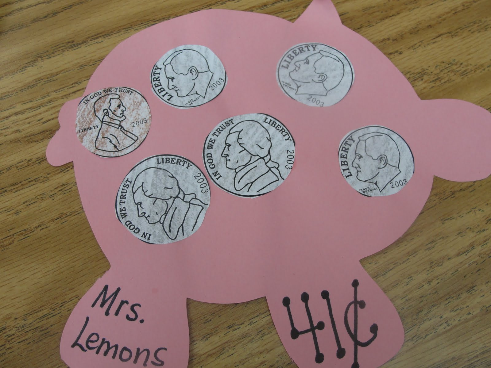 Step Into 2nd Grade With Mrs Lemons Show Me The Money