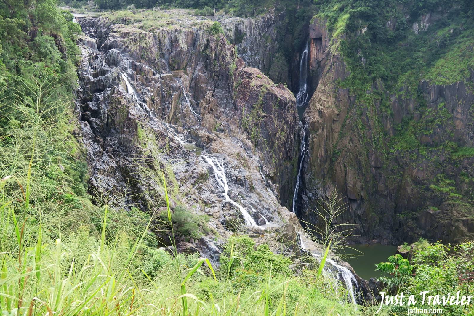 凱恩斯-庫蘭達-交通-觀光火車-景點-巴倫瀑布-自由行-旅遊-澳洲-Cairns-Kuranda-Scenic-Railway-Barron-Falls-Travel-Tourist-Attraction-Australia