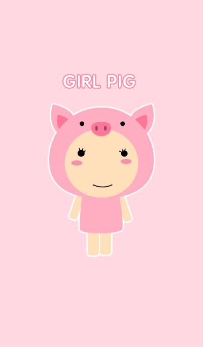 Girl Pig theme v.2