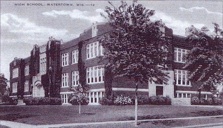 Wi Watertown School High Watertown