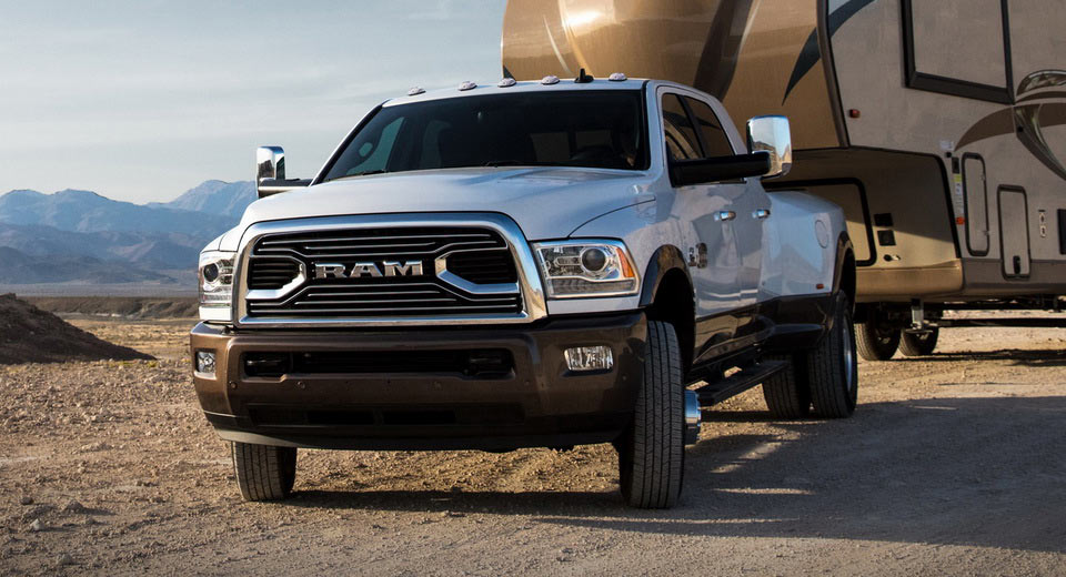 Ram 3500 Improves Towing and Torque Capability
