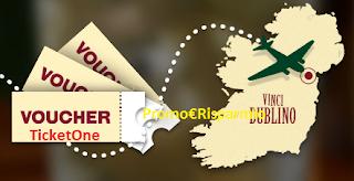 Logo Concorso Jameson: vinci gratis TicketOne da 100 euro e viaggio a Dublino