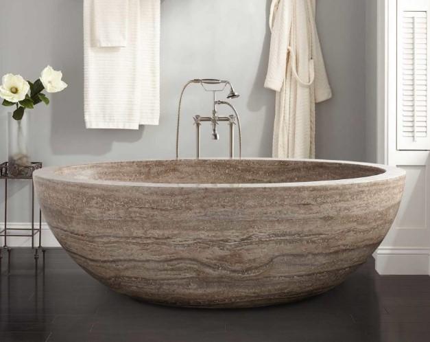 Rock Decorative Bathtub