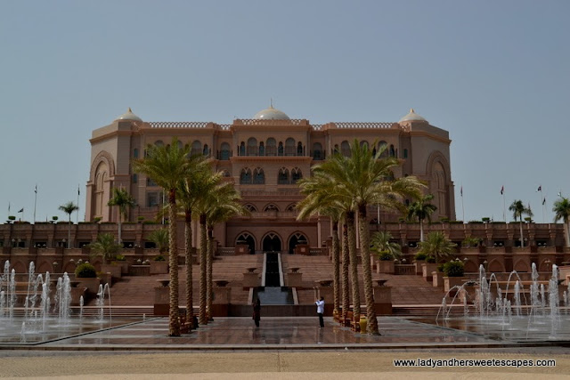 Emirates Palace in Abu Dhabi