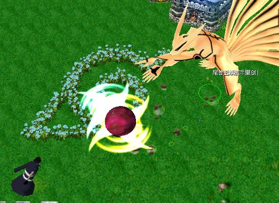 naruto castle defense 6.2 Rikudo.Massive Rasenshuriken