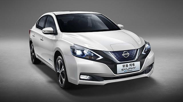 Nissan Sylphy Zero Emission revealed as Leaf-based EV for China