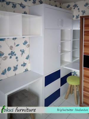 furniture minimalis apartemen kalibata city