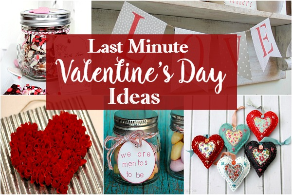Holiday: Last Minute Valentine's Day Recipes and Ideas from Walking on Sunshine