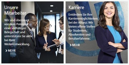 Karriere Allianz