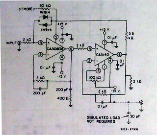 CA 3140, CA 3140A ,CA 3140B Penguat Operasi (Operational Amplifiers) BiMOS