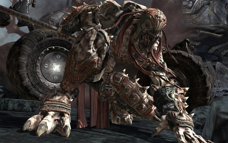3D Monsters Gears Of War Gears Of War 2