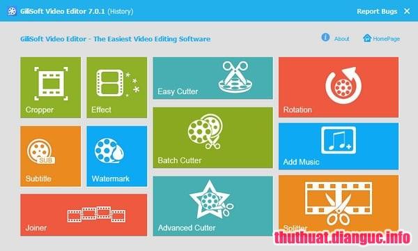 Download GiliSoft Video Editor 10.2.0 Full Key – Phần mềm cắt nối, chỉnh sửa video dễ dàng