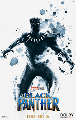 Marvel's Black Panther DOLBY Cinema Theatrical One Sheet Movie Poster