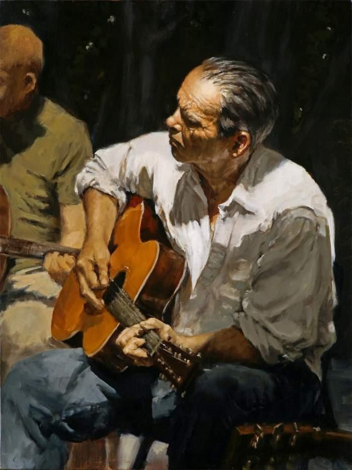 Фигуративная и портретная живопись. Calvin Lai