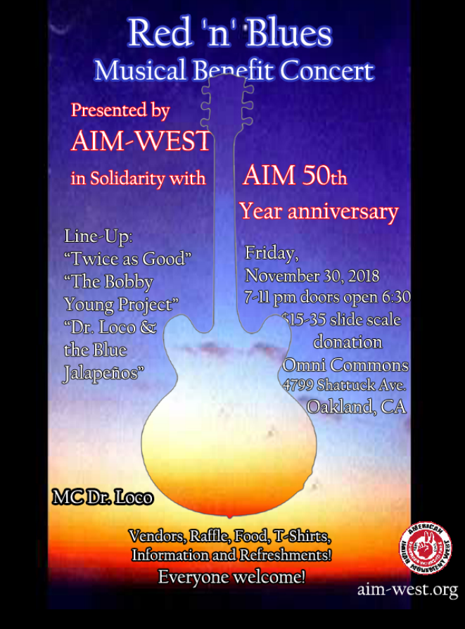 CENSORED NEWS: AIM West Red 'n' Blues Concert San Francisco 2018