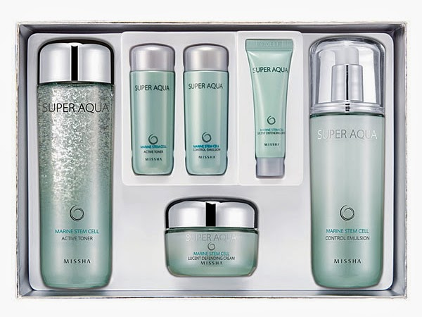 Missha Super Aqua Marine Stem Cell Special Gift Set