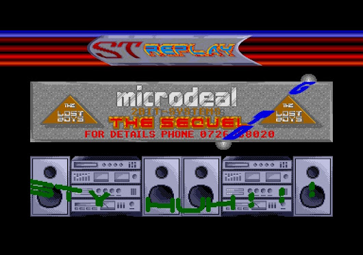 Megabang 2 - The Sequel by The Lost Boys on the Atari ST