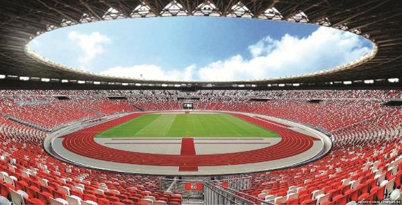 Stadion Utama Gelora Bung Karno (SUGBK) Jakarta