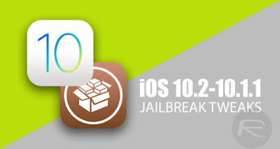 قائمة بأدوات Cydia المتوافقة مع جيلبريك 10.1/10.2.1/iOS 10