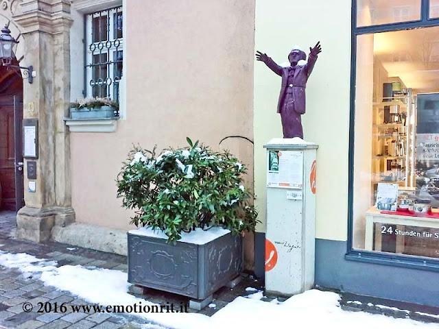 La Wagnerweg a Bayreuth