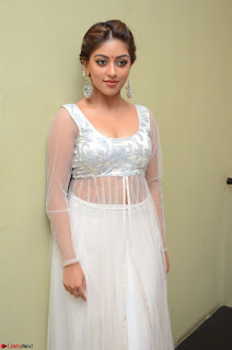 Anu Emmanuel in a Transparent White Choli Cream Ghagra Stunning Pics 060.JPG