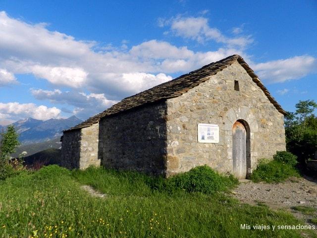 Ermita de la Virgen de la Peña, Tella