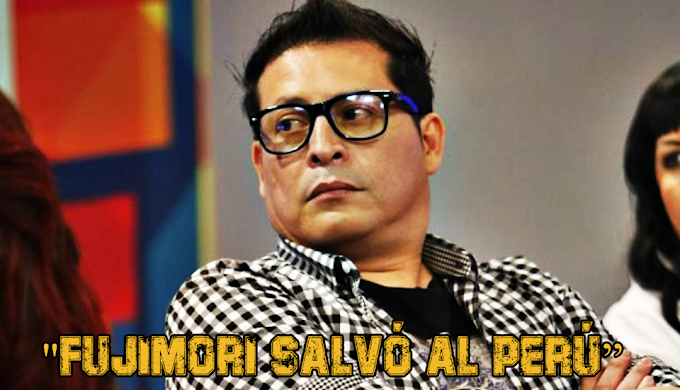 Carloncho afirma que Alberto Fujimori salvó al Perú